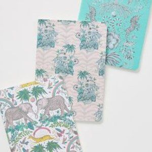 Set of 3 Journals Anthropologie Emma Shipley NWT